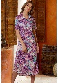Dress shirt print flowers