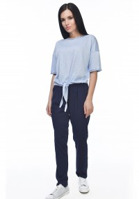 suit knitted t-shirt