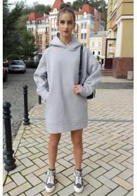 Warm hoody dress